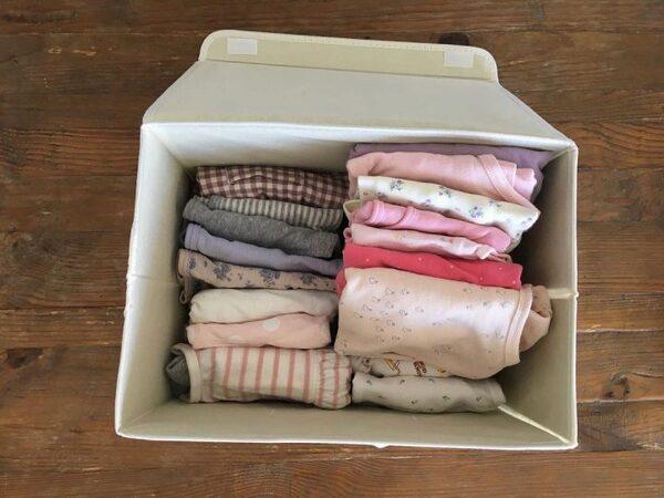 たくさん入る布製収納ボックス