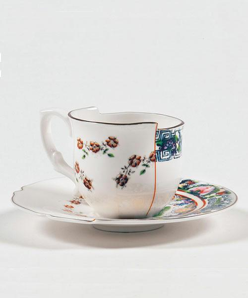[entre square] SELETTI/ハイブリッドカップ&ソーサー TAMARA