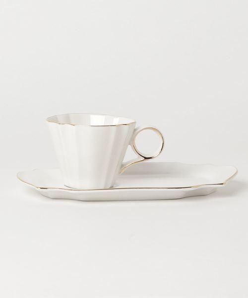 [Francfranc] ビアンコ カップ&ソーサー