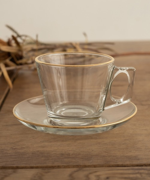 [CAPRICIEUX LE'MAGE] 〈WEB・一部店舗限定〉【QUEEN'S GOLD】Cup&Saucer