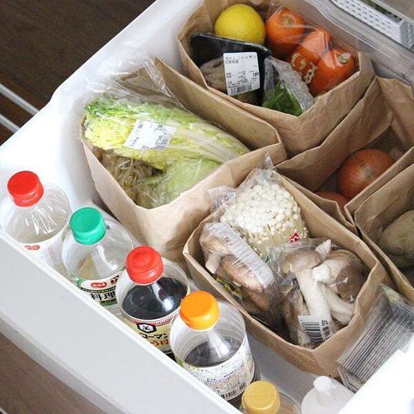 野菜室収納2