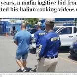 YouTubeに投稿した料理動画がきっかけで逃亡中のマフィアを逮捕 「コメディ映画みたい」と呆れる声