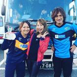 丸山桂里奈、夫・本並健治と三船美佳との5年前の写真!