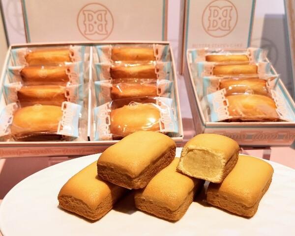 東京・池袋、東京駅スイーツ店「BUTTER STATE's」バターステイツケーキのディスプレイ