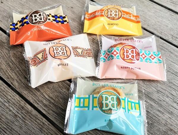 東京・池袋、東京駅スイーツ店「BUTTER STATE's」バターステイツ個包装パッケージ
