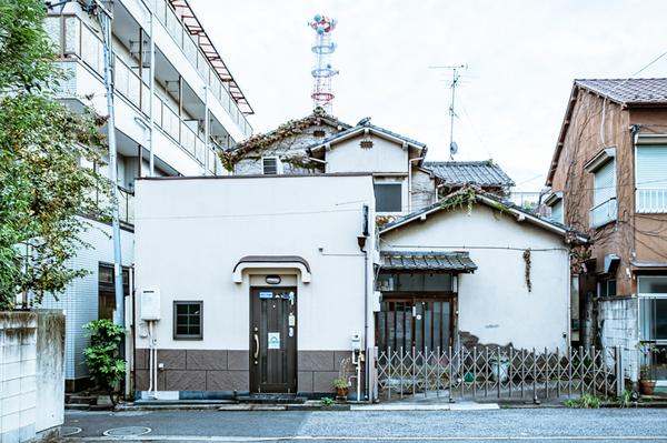 待合茶屋「武蔵野」だった建物。