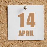 今日は何の日?【4月14日】