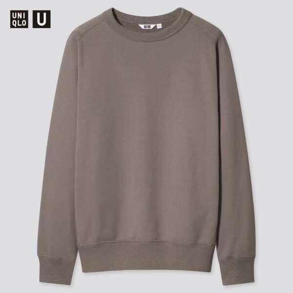 ユニクロのワイドフィットスウェットシャツ