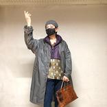 美川憲一、ドラえもん×グッチのコラボジャケット姿!