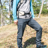 動きやすさと快適性重視なら、マウンテンハードウェアの「ベイシンパンツ」。秒で穿ける楽さよ マイ定番スタイル