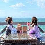 淡路島のカリコ岬に、オーシャンビューが楽しめるベーカリーカフェがオープン