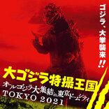 歴代ゴジラが東京ドームシティに集結!貴重な所蔵品公開