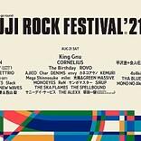 【FUJI ROCK FESTIVAL '21】出演日別ラインナップ第1弾発表