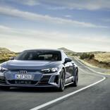 アウディの電気自動車第2弾、「Audi e-tron GT」を日本初公開