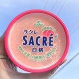 サクレに「白桃」味が登場だ! さっそく食べてみたところ果汁と果肉の存在感たるや… これは、冷凍庫に常備決定ぃぃ!!