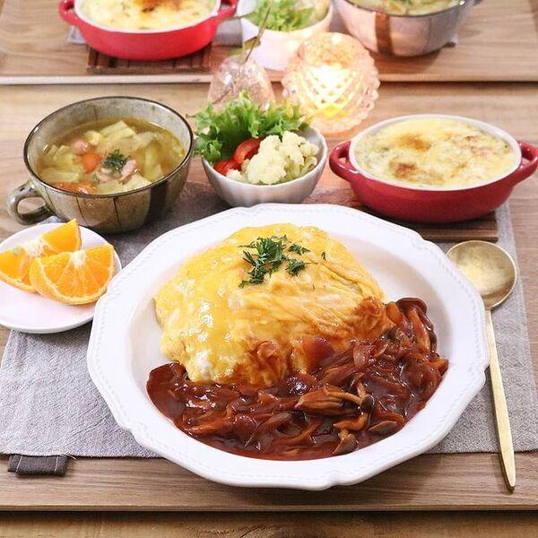 もち麦と野菜のスープ