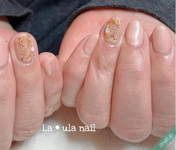 La☀ula nailが投稿したネイルデザイン [photoid:I0094608] via Itnail Design (641441)