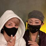美川憲一、久しぶりに会った梅宮アンナとの2ショット