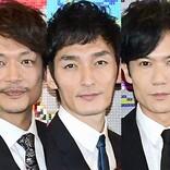 香取慎吾、舞台観劇に訪れた稲垣吾郎&草なぎ剛と2ショットにネット「幸せになれる」
