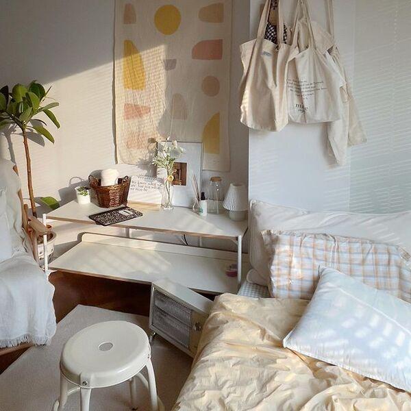韓国インテリア風が◎一人暮らしのお部屋実例