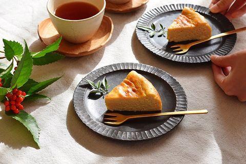 甘酒とお豆腐のベイクドチーズケーキ