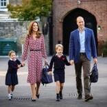 葬儀での立ち居振る舞いで「株を上げた」キャサリン妃、子供達との買い物でも称賛集まる