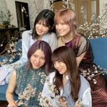 """YouTubeでも活躍するAKB48の""""ゆうなぁもぎおん""""の4人が雑誌「BRODY」の表紙を飾る!オフショットも披露!"""