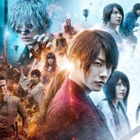 『るろ剣』2021年実写映画No.1のヒットスタート! 緊急事態宣言影響も興収7.45億円