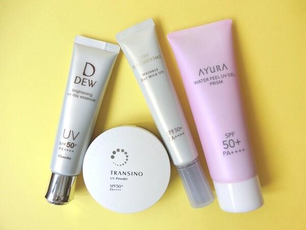 マスク時代の紫外線対策のポイントと、ストレスなく使えて美肌効果が高い優秀な日焼け止め4つを厳選してご紹介します。