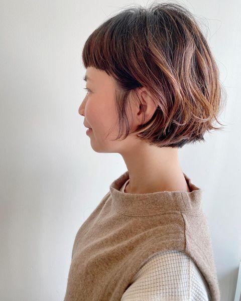 前髪短めボブ3