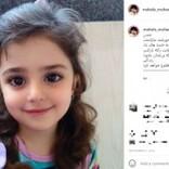 """""""世界で最も美しい少女""""が8歳に 3歳でインスタデビュー(イラン)"""
