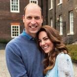 ウィリアム王子&キャサリン妃、結婚10周年に記念写真公開 動画には「なんて素敵な家族」の声も