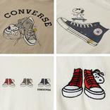 スヌーピーとコンバースのコラボTシャツが発売だ!スニーカーの中にスヌーピーは反則です!かわいすぎます!