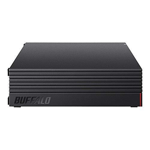 【Amazon.co.jp限定】バッファロー 外付けハードディスク 6TB テレビ録画/PC/PS4/4K対応 バッファロー製nasne™対応 静音&コンパクト 日本製 故障予測 みまもり合図 HD-AD6U3