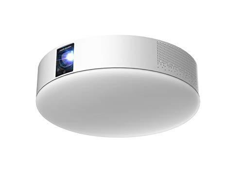 popIn Aladdin 2 ポップインアラジン プロジェクター 天井照明 LEDシーリングライト スピーカー テレビ フルHD 家庭用 映画 ホームシアター 短焦点 スマホ対応