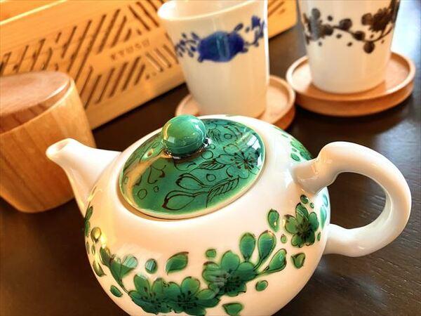 界 加賀 茶器