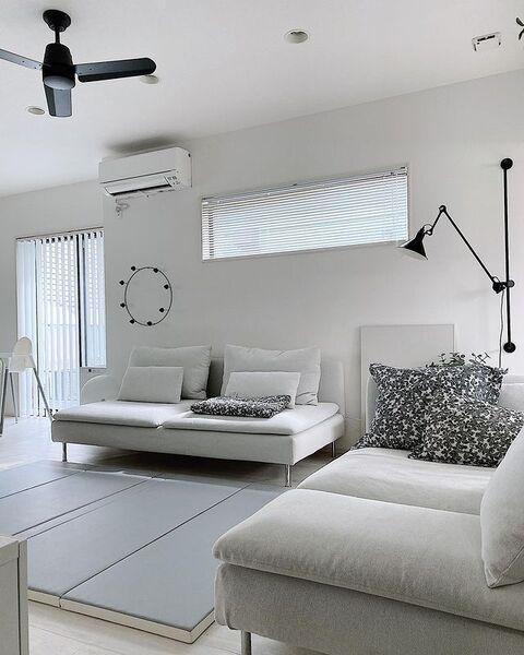 IKEAのおしゃれな部屋実例1