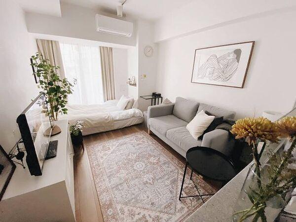 IKEAのおしゃれな部屋実例3