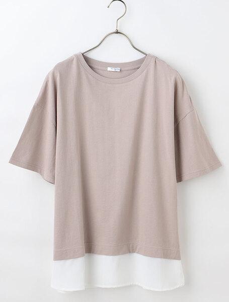 ハニーズの裾レイヤードTシャツの写真