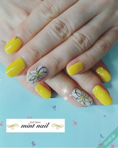 mint nailが投稿したネイルデザイン [photoid:I0089345] via Itnail Design (643092)