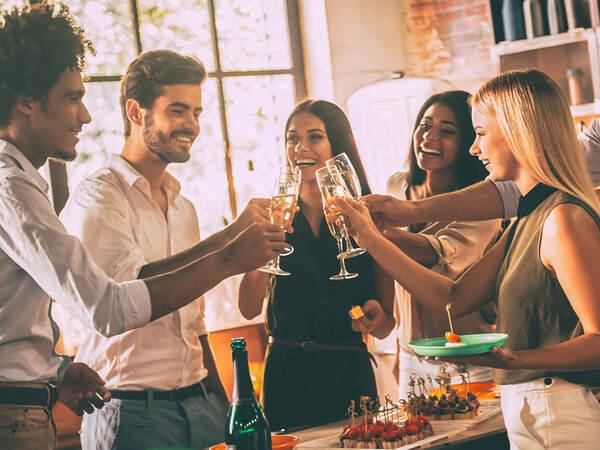 飲み会などのイベントで使うタイプは野心家