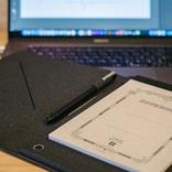 書き心地とデータ保存を両立! ツバメノート採用のデジタルパッドを使ってみた