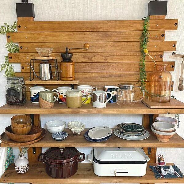 二人暮らしキッチン収納