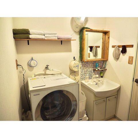 二人暮らし洗面所2