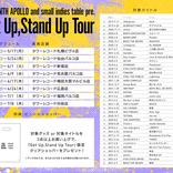音楽インディーズレーベル・THE NINTH APOLLO×small Indies table、全国で合同POPUP SHOP TOURを開催 限定グッズの販売など