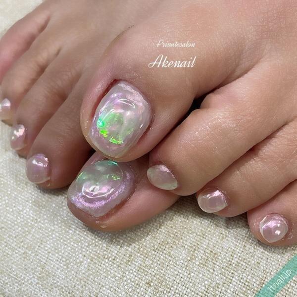 Private salon Ake nailが投稿したネイルデザイン [photoid:I0095785] via Itnail Design (642988)