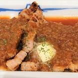 松屋特製シャリアピンソースがかかったトンテキはご飯がすすみまくり 大盛りでも物足りなかったぞ!