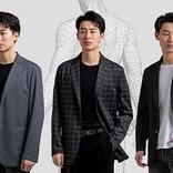 夏でもムレない! 本格ナポリスタイルの高機能スーツジャケット「BUSINESS CASUAL」がMakuakeに登場