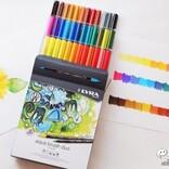 プロも使う高品質なツインマーカー『LYRA アクア・ブラッシュ・デュオ』で絵やレタリングを楽しもう!