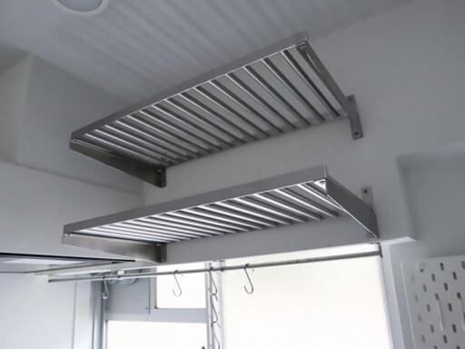 KUNGSFORS(クングスフォルス)の棚板を設置
